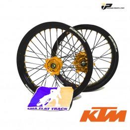 Paire de Roues FLAT TRACK IP Evo KTM
