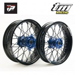 Paire de roues JANTES supermotard pour TM Racing wheels
