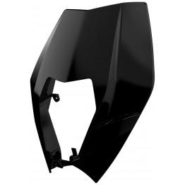 Haut de plaque Phare BK KTM EXC 125 2008-2013