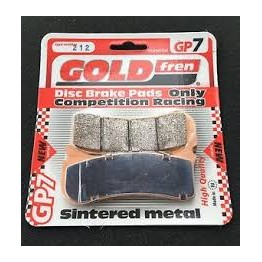 Plaquette goldfren 212 racing 6 piston beringer