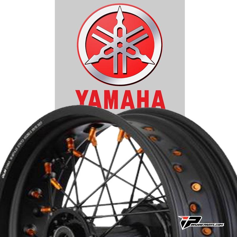 Roues supermotard Yamaha