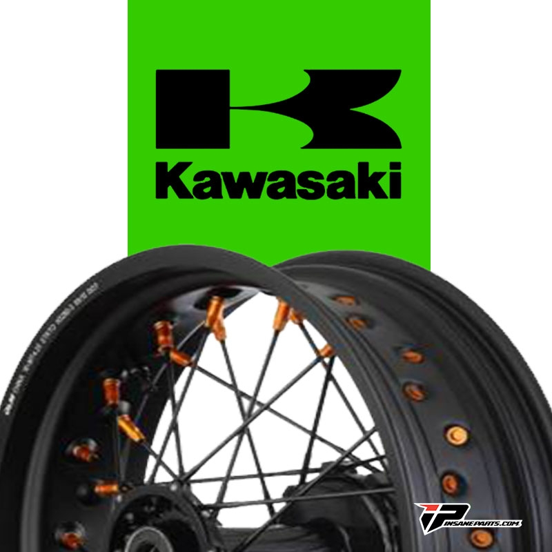 Roue supermotard Kawasaki