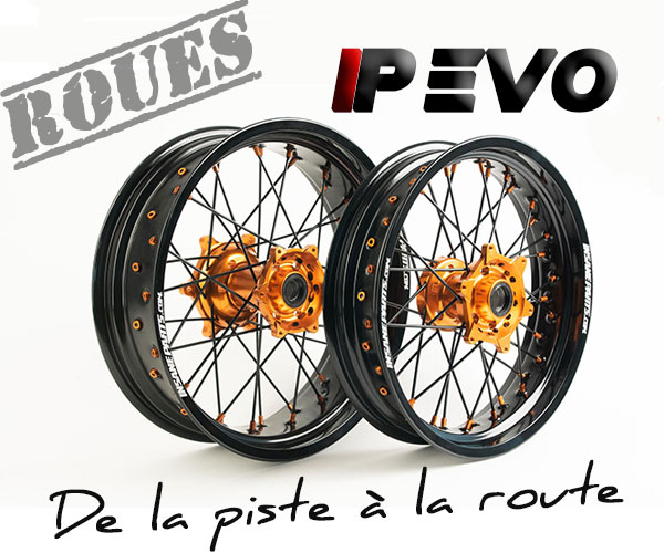 Roues supermotard insane parts IP EVO
