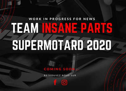 Le Team Insane-parts Honda Supermotard 2020
