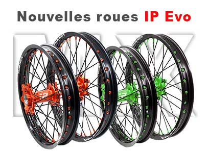 Les nouvelles roues Cross IP Evo