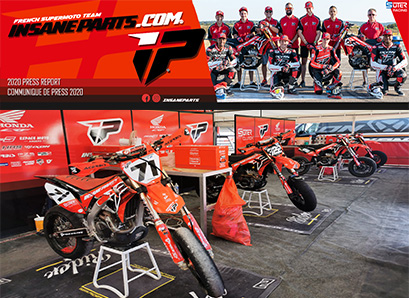 Team insane-parts Honda 2020 | Championnat de France Supermotard 2020, la 1ère épreuve !