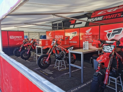 Team supermotard insane-parts.com Honda 2021
