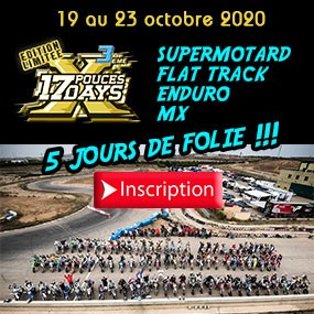 17 Pouces DAYS 2020 INSCRIPTION
